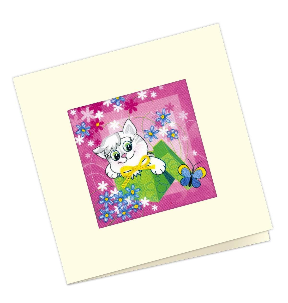 Набор для вышивания открытка